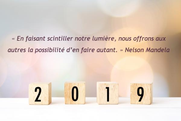 Appart & Sens fête ses deux ans et vous souhaite une belle année 2019