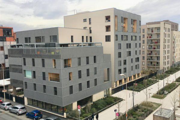 Les Girondines : une résidence intégrant EHPAD et logements