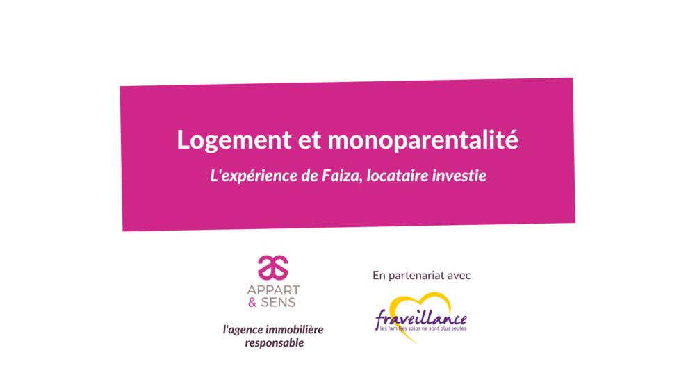 logement et monoparentalité