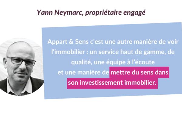 Portrait de propriétaires engagé.e.s #4 : Yann Neymarc