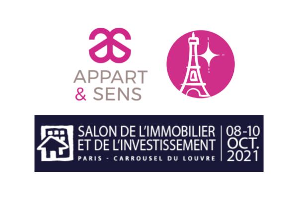 Appart & Sens au Salon de l'Immobilier Paris !